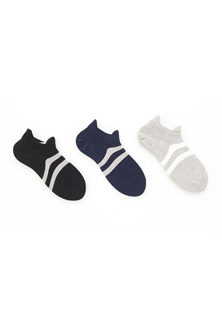 男裸襪(三入)