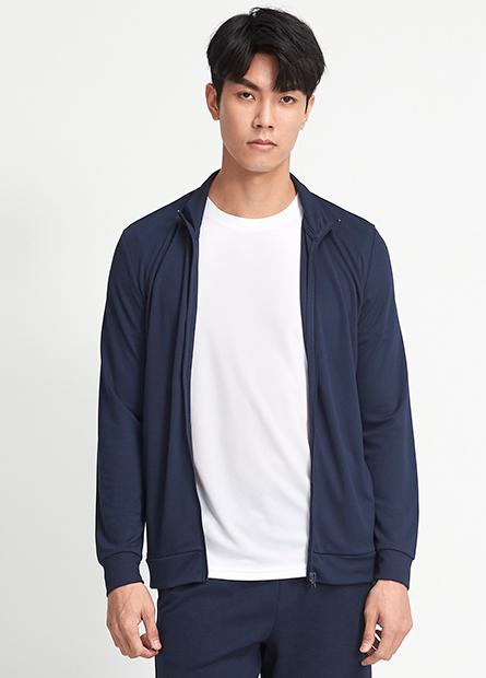 素色立領抗UV外套