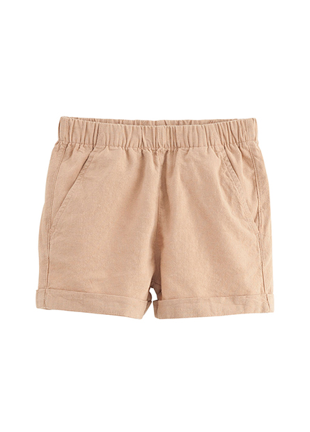 女童腰鬆緊反褶短褲