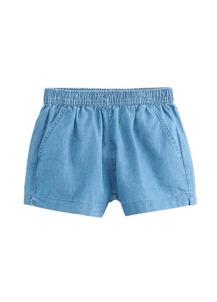 女童腰鬆緊休閒短褲