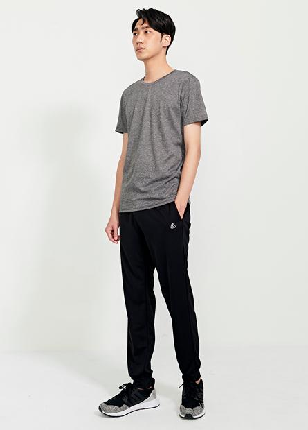 腰綁帶機能縮口褲