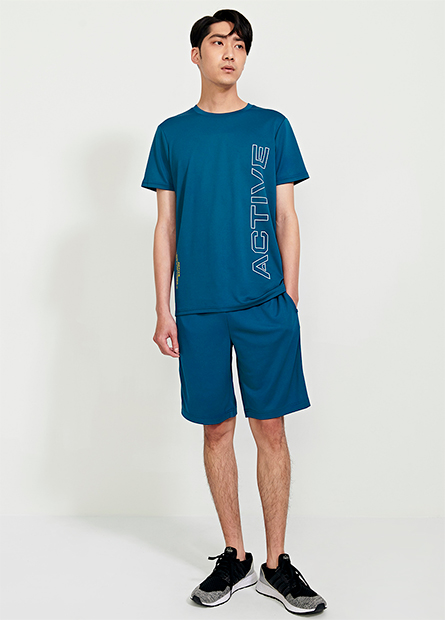 抽繩機能運動短褲