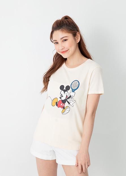 米奇米妮打網球短T