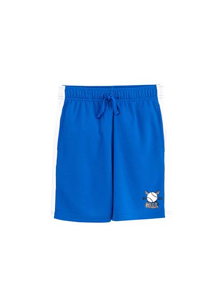男童棒球印花運動短褲