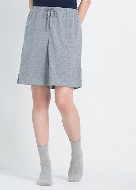 素色家居短褲