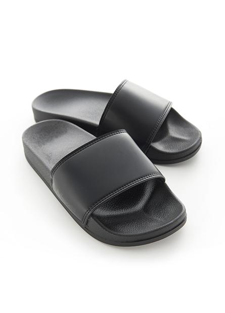 素面厚底拖鞋(中性款)