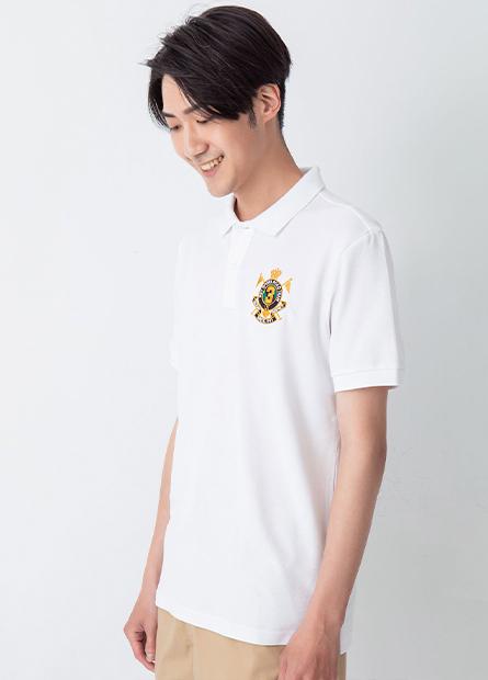 皇家刺繡短袖POLO衫