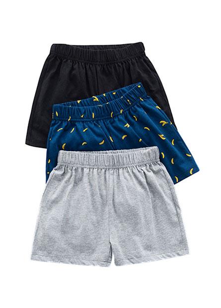 男童平口內褲(三入)