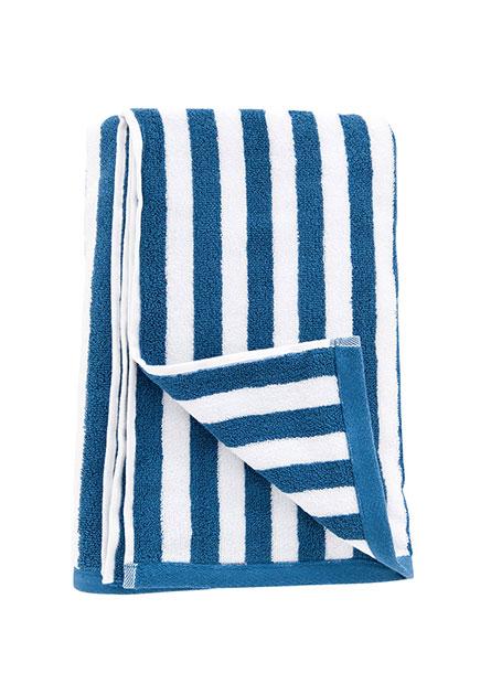 純棉條紋浴巾厚款