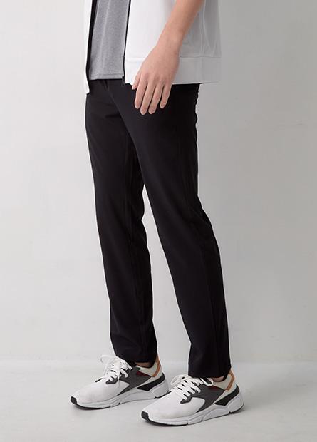 腰綁帶單層運動長褲