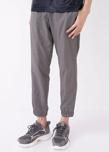 綁帶單層運動縮口褲