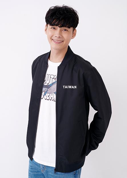 TAIWAN印字飛行外套