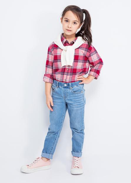 Skinny Fit女童緊身窄管牛仔褲