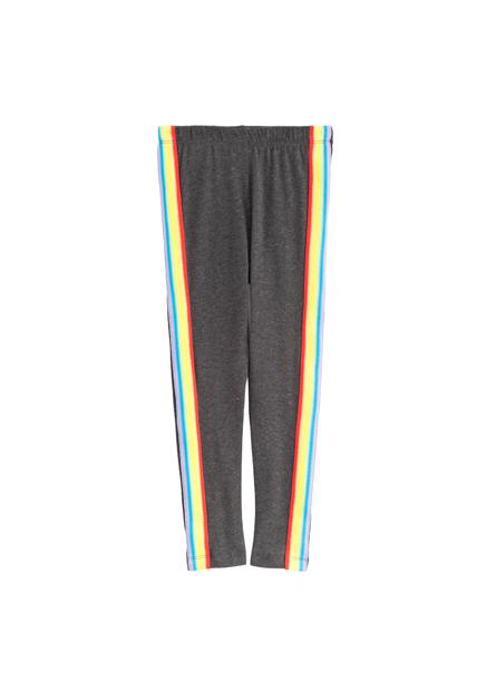 女童彩虹獨角獸緊身褲