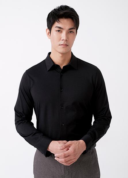 Slim Fit舒適修身長袖襯衫
