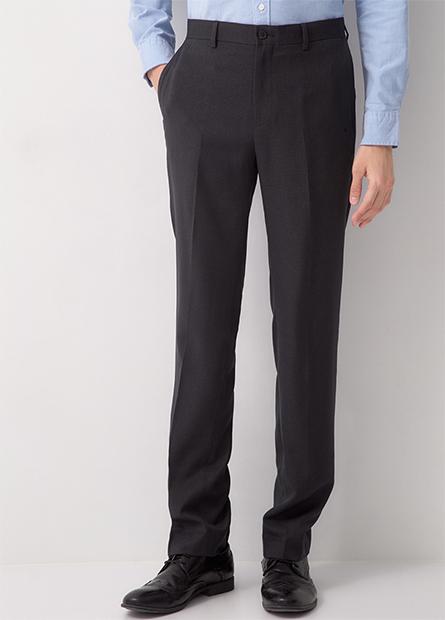 Slim Fit 修身直筒西裝褲