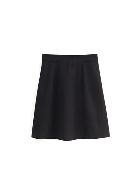 Regular Fit及膝A字裙