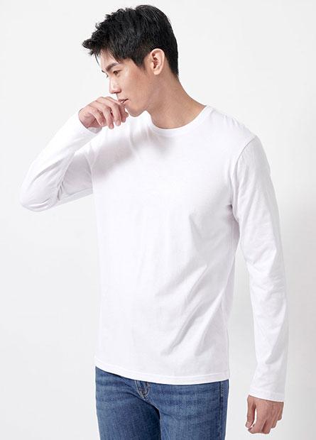 圓領花紗T恤