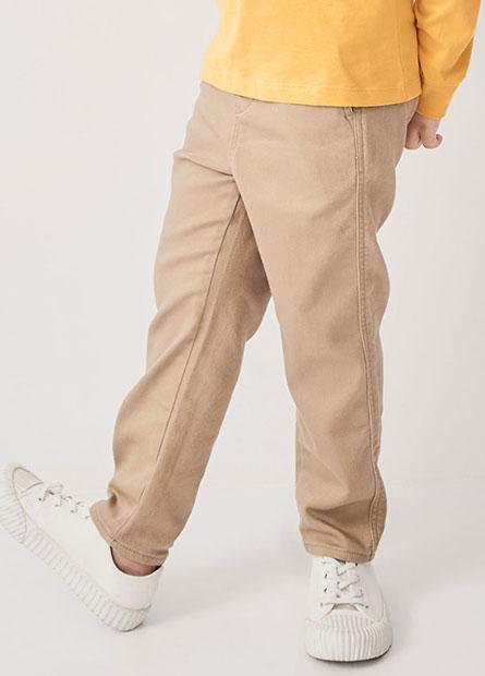 男童鬆緊腰長褲