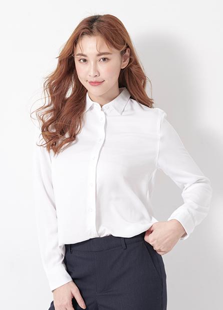 嫘縈商務長袖襯衫