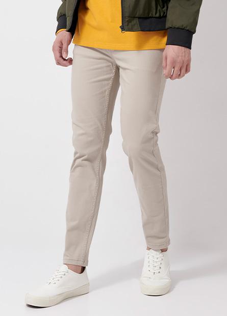 Skinny Fit窄管多色九分牛仔褲