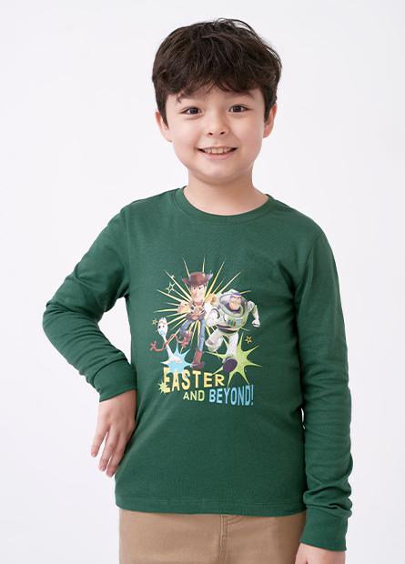 男童玩具總動員長袖T恤