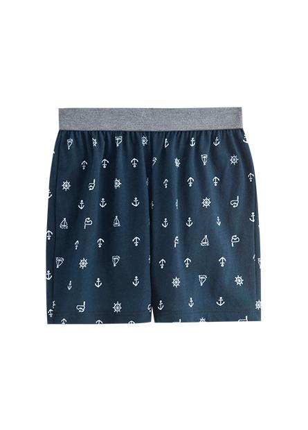 男童印花平口內褲