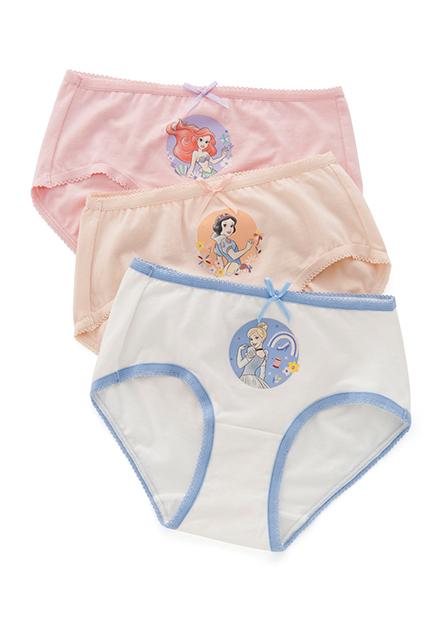 女童公主印花中腰內褲