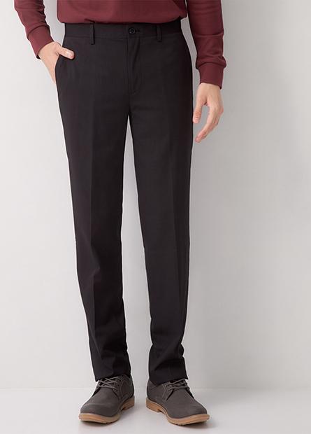 Slim Fit 基本修身直筒西裝褲