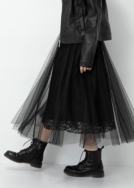 甜美蕾絲紗裙