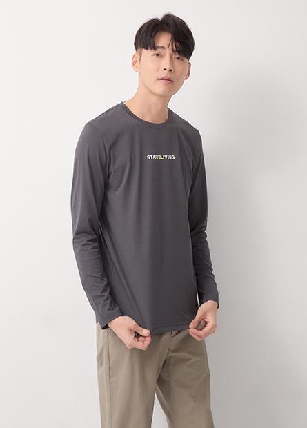 高彈性運動機能長袖T恤