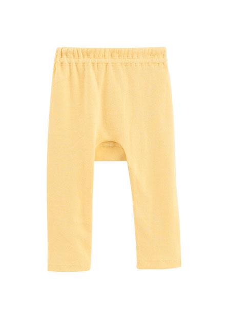 嬰兒純棉素色初生褲