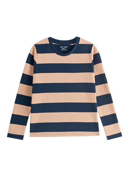 男童條紋棉質長袖T恤