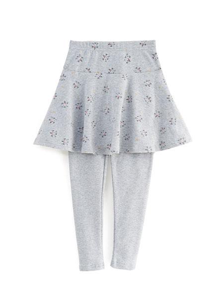 女童彈力棉質內搭褲裙
