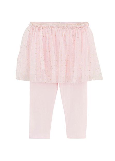 女嬰點點紗裙內搭褲