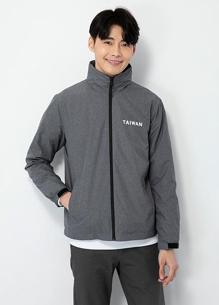 TAIWAN單層防風連帽夾克