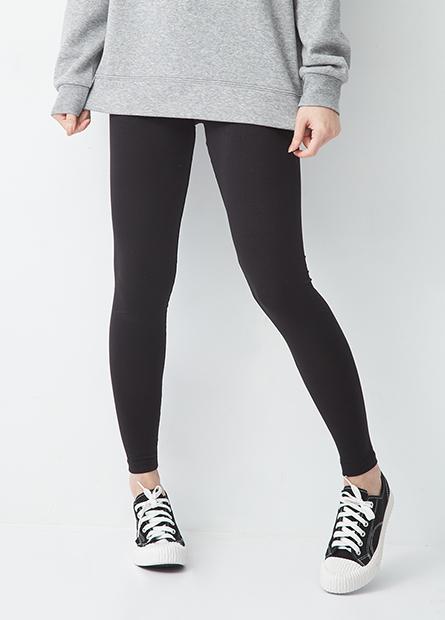 基本素色棉質內搭褲
