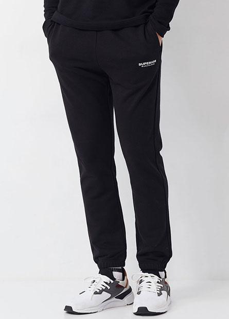 SUPERIOR棉質束口褲