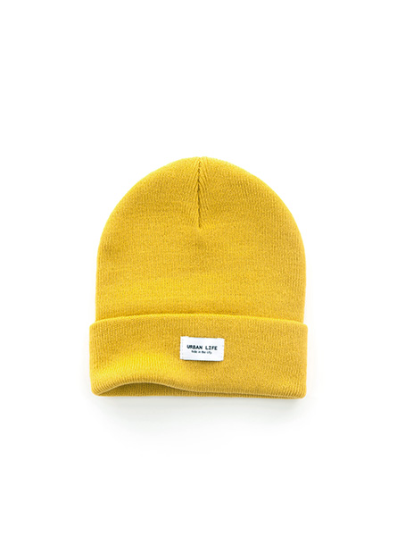 織布反摺毛線帽