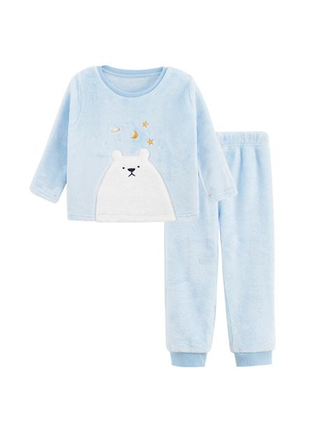 Baby小白熊珊瑚絨套裝