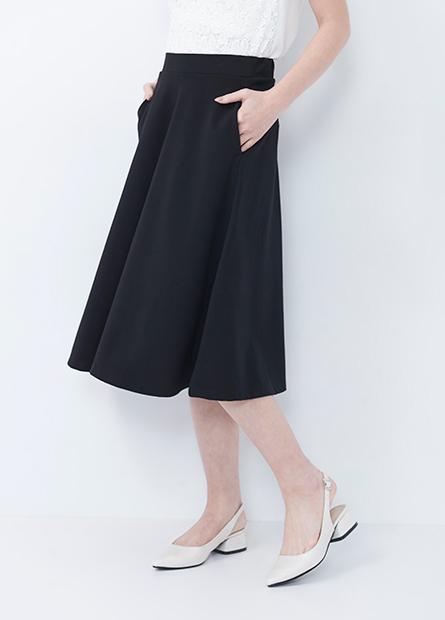 彈性鬆緊傘狀中裙