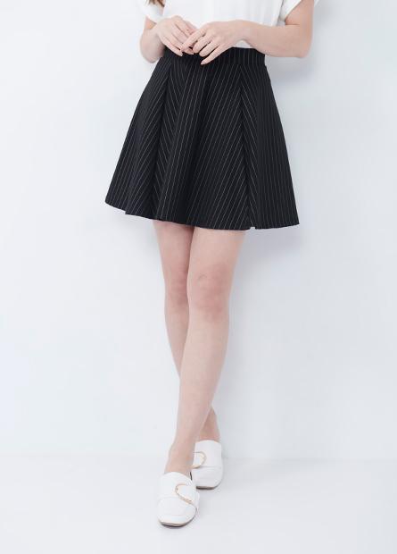 彈性鬆緊傘狀短裙