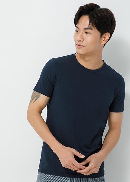 背面FORMOSA字樣合身圓領T恤