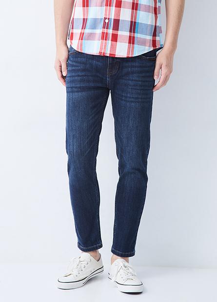 Skinny Fit合身窄管九分牛仔褲