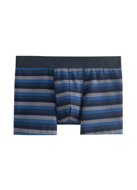 彈性織帶中低腰四角內褲