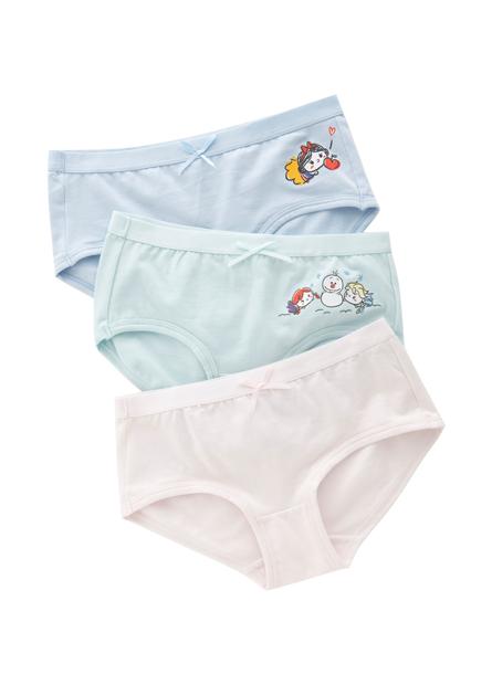 女童米妮黛西印花低腰內褲