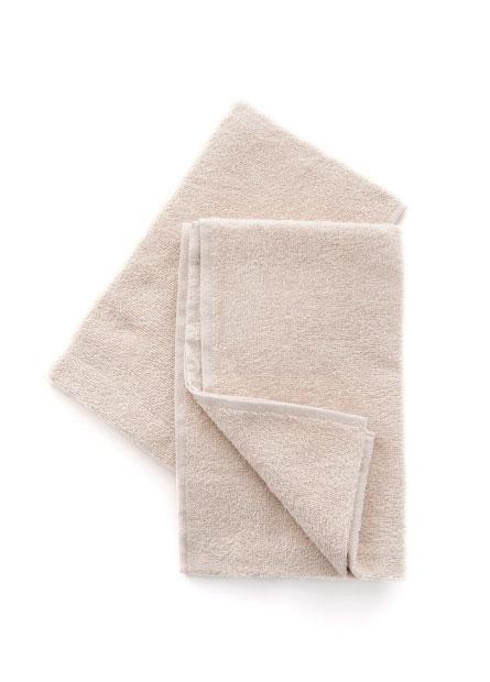 素色純棉毛巾(二入)