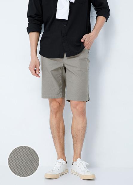 Slim Fit修身彈性休閒短褲