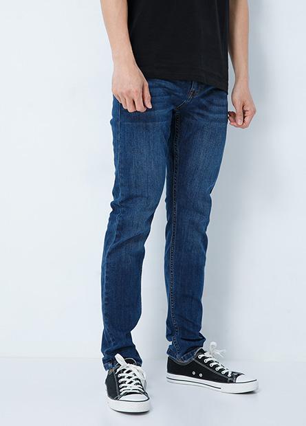 Skinny Fit合身窄管牛仔長褲