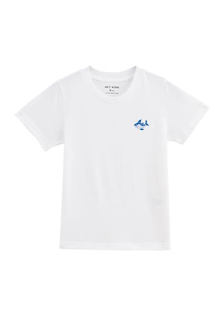 男童小鯊魚印花T恤